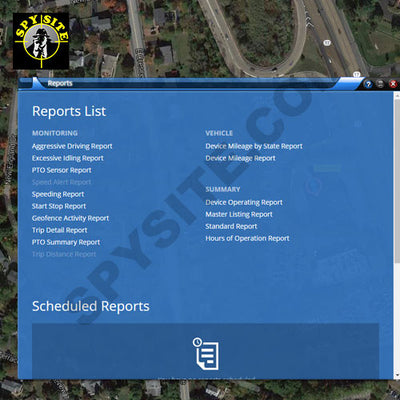 GPS Tracking Reports