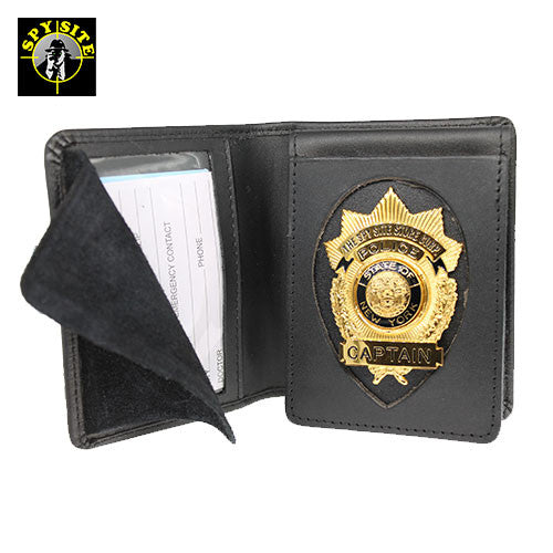 Convertible Flip-Out Badge Wallet & Case