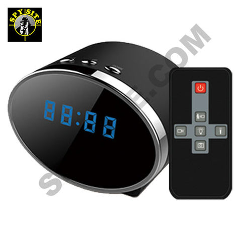 Night Vision Clock Camera & DVR