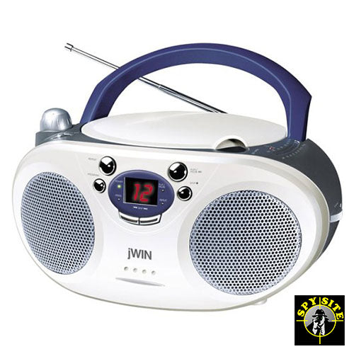 Boombox CD Player Hidden Camera - DigiSpy Day Night Spy Camera