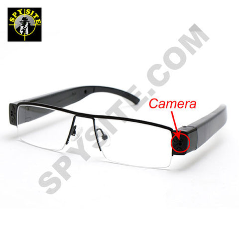 Clear Eye Glasses HD Camera DVR