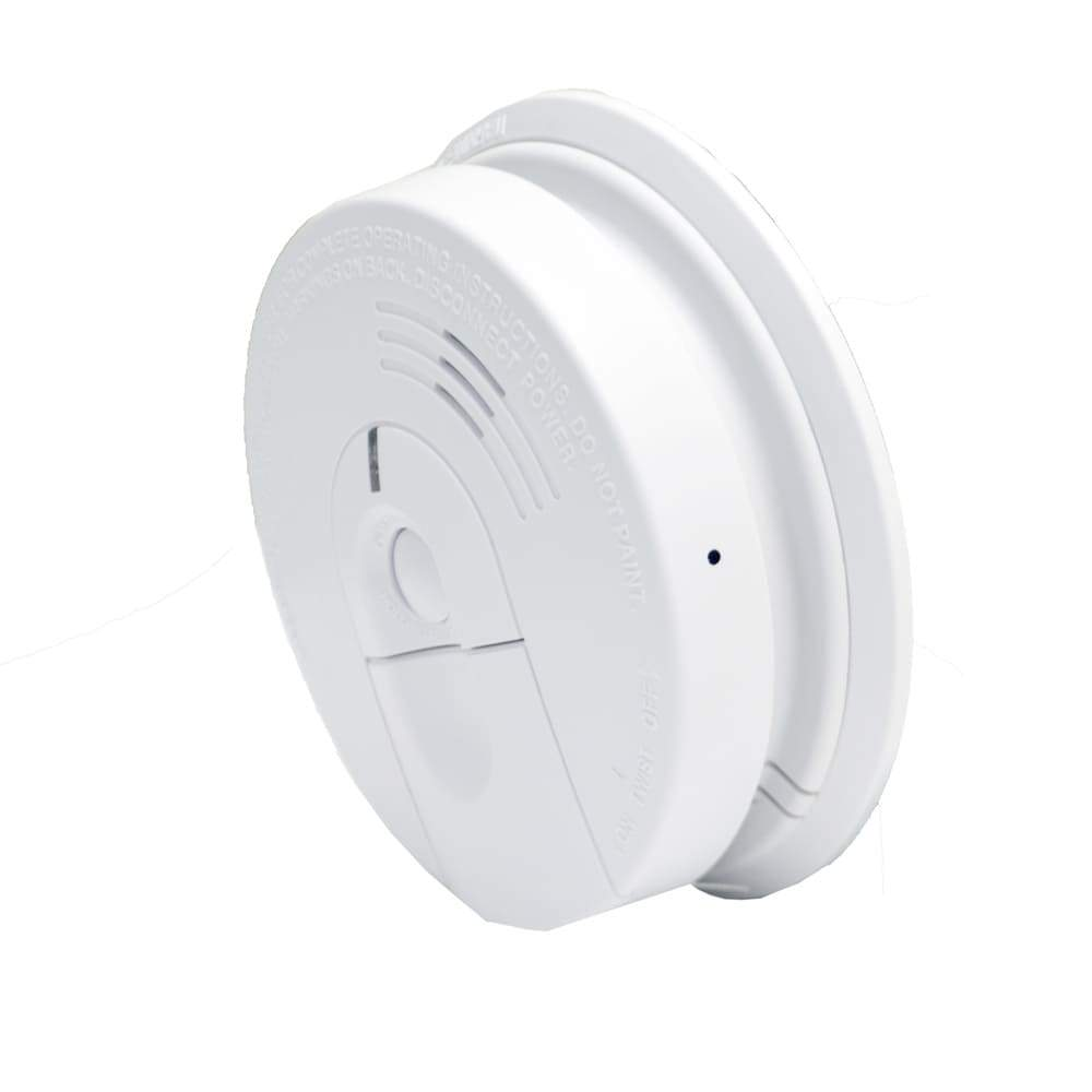 Side View Wifi Smoke Detector Spy Camera & DVR - Wireless Hidden Camera - 110V Hardwired