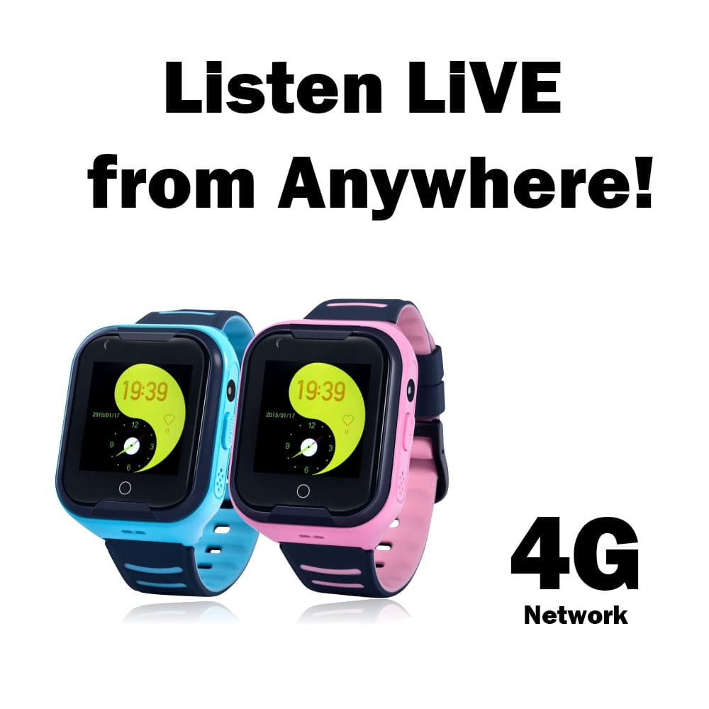 Remote Listening, Locating, GPS Child Safety Smart Watch Phones in Pink and Blue
