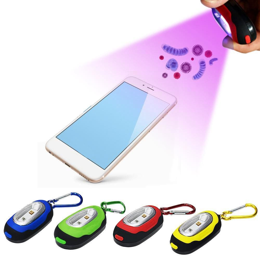 Travel UV Germicidal UV Key Chain Light