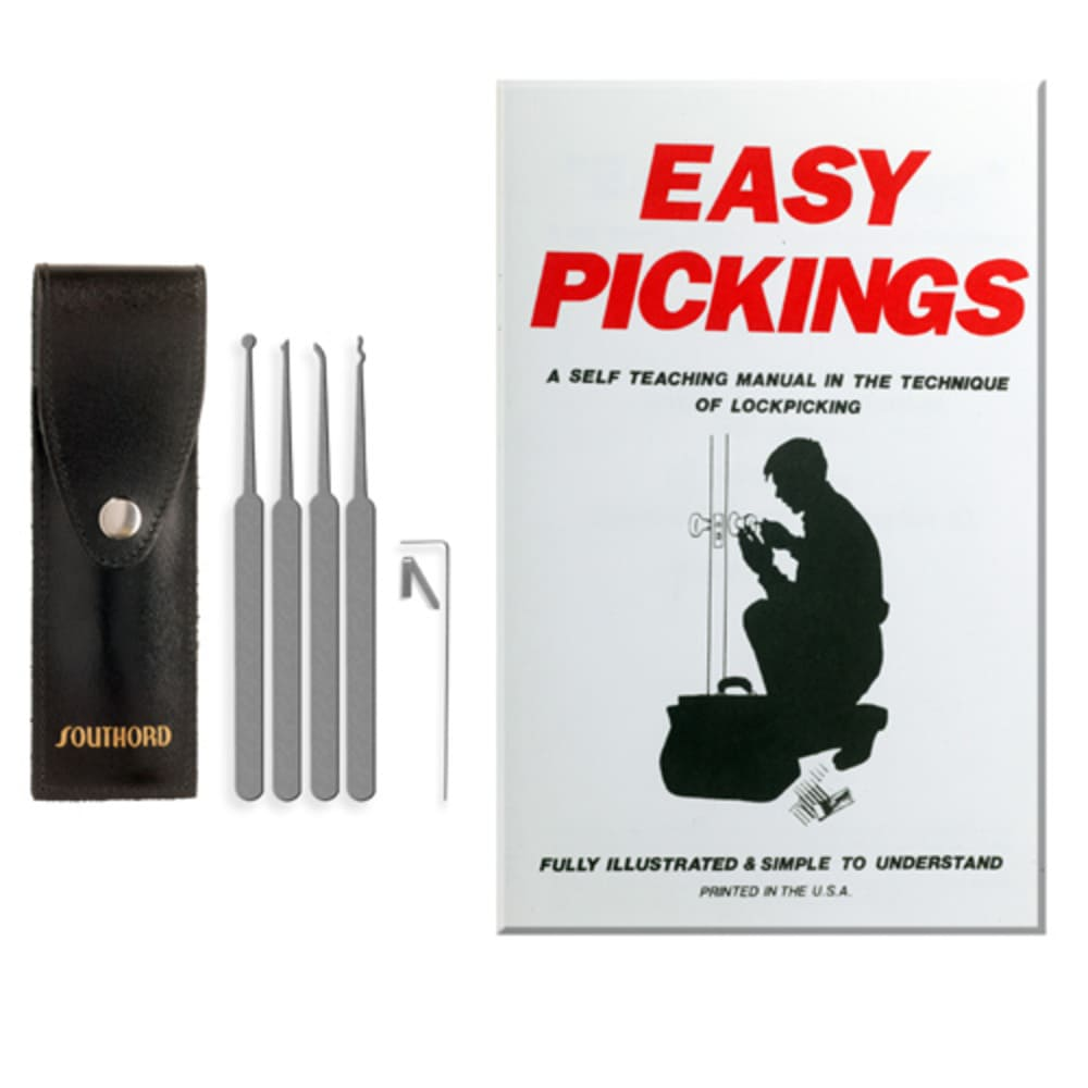 5 Piece Lock Pick Set