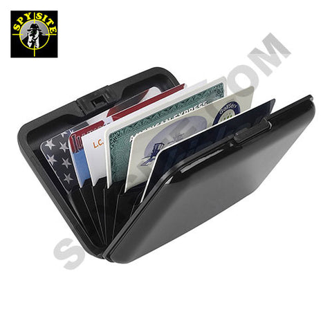 RFID Blocking Credit Card Aluminum Wallet