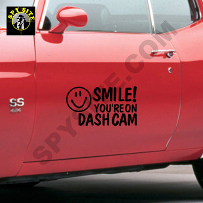 Dash Camera Decal