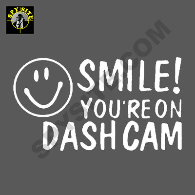 Dash Camera Bumper Sticker