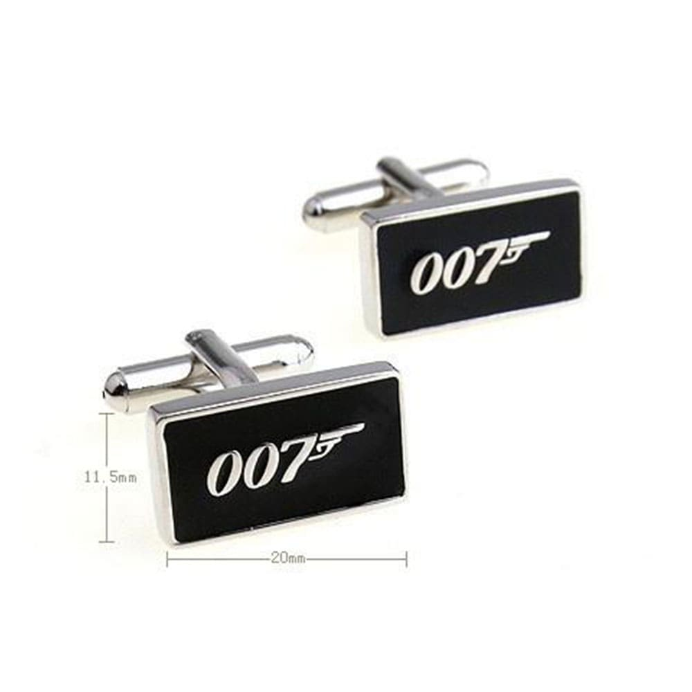 007 French Cuff links - Spy Wear - Gifts for men