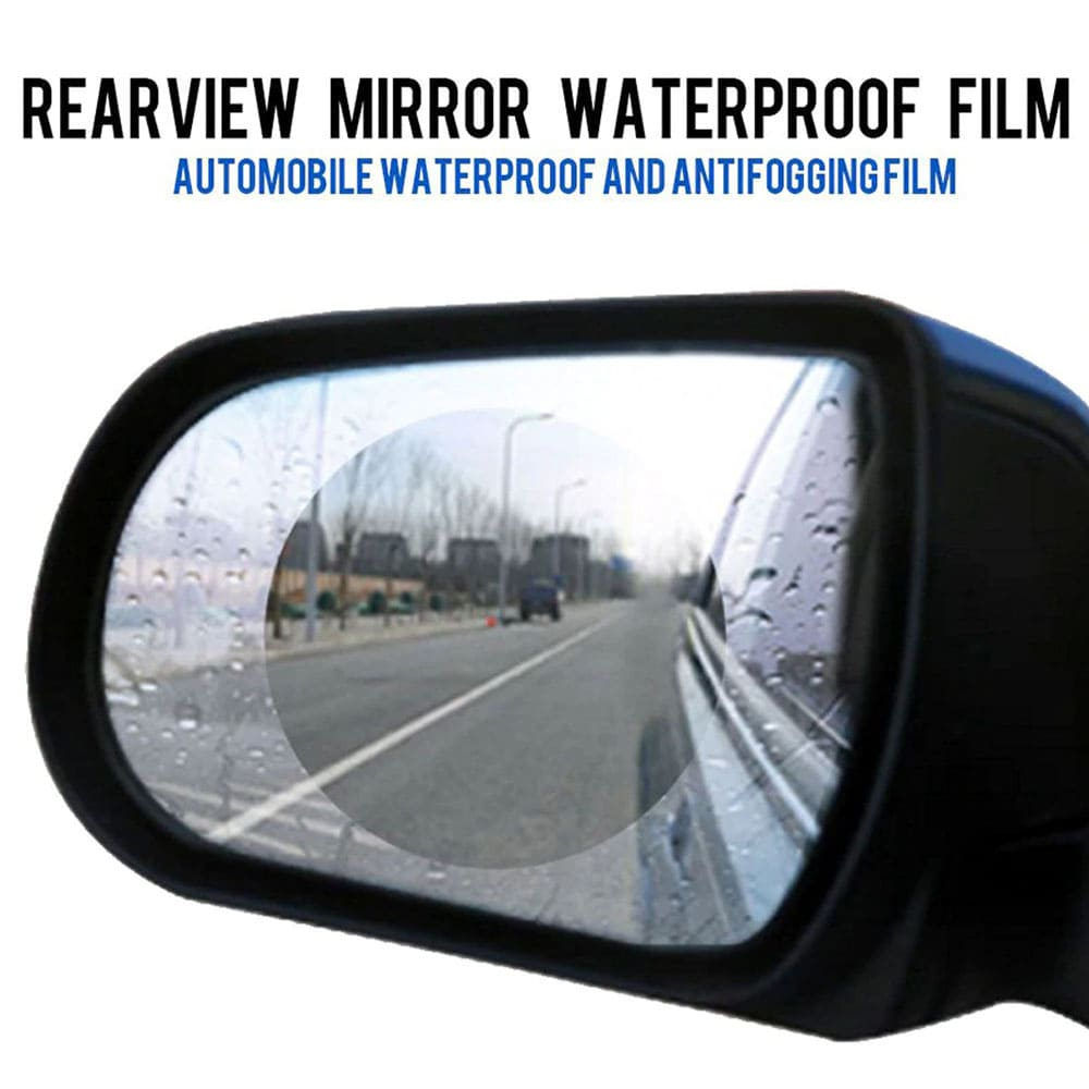 Rain-Free Mirror Coating for Car, Bike and Boat