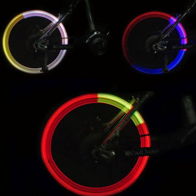 Night time bike safety lights