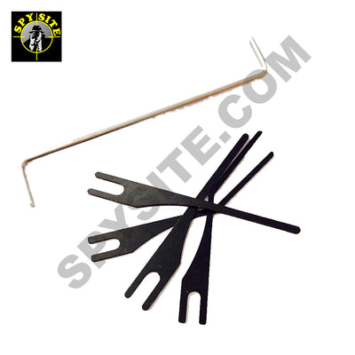 picking needles and tension tool