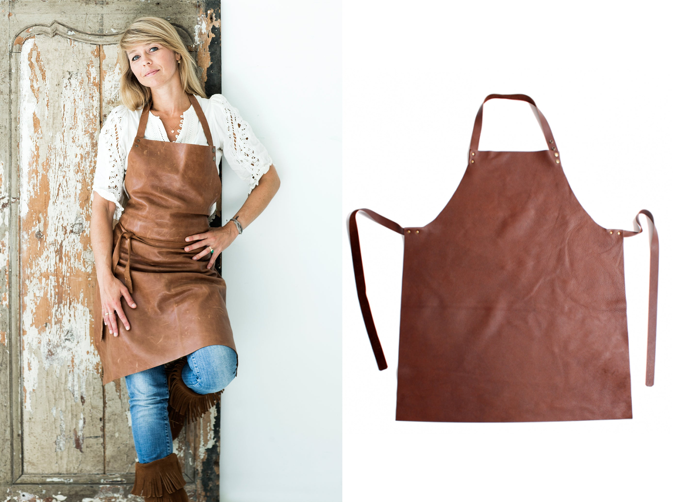 Timeless Leather Apron  | shipped world wide
