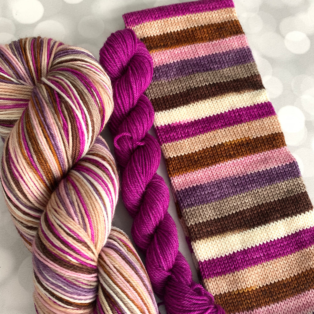 Jelly Monster - SERENDIPITY - Self Striping Yarn