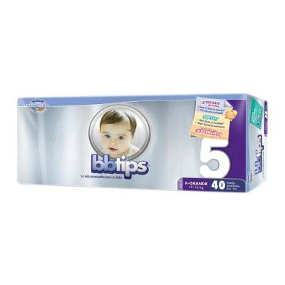 Bbtips Chicolastic Diapers Size 5 (40 ct)