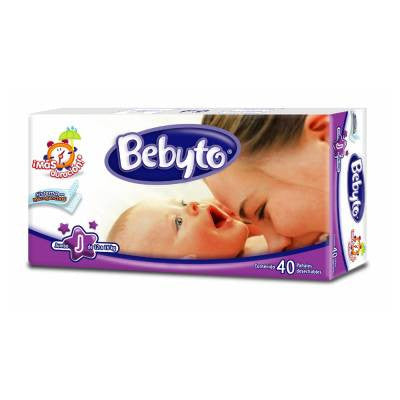 Bebyto Diapers Jumbo (40 ct)
