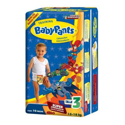 Baby Pants Training Pants Boy Size 3 (10 ct)
