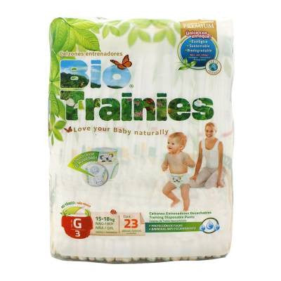 Bio Trainies Training Pants Size 3 (23 ct)