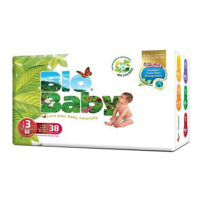 Bio Baby Disposable Diapers Size 3 (38 ct)
