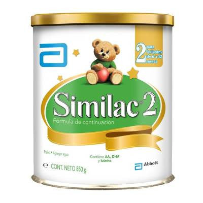 Similac dairy formula, stage 2, 6 to 12 months, 850 g