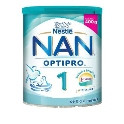 Nan Optipro infant formula, stage 1, 0 to 6 months, 400g