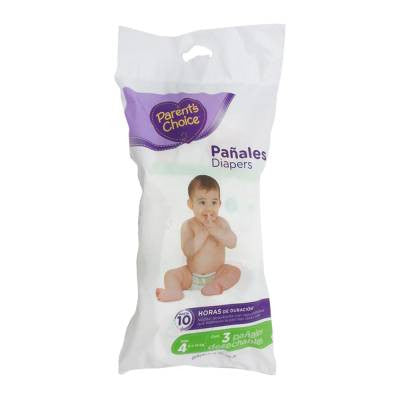 Parents Choice Diapers, Size 4 (3 ct)