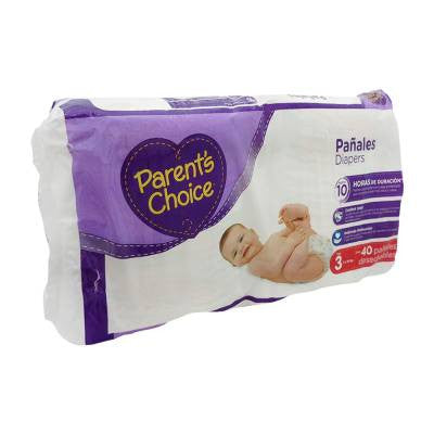 Parents Choice Diapers, Size 3 (40 ct)