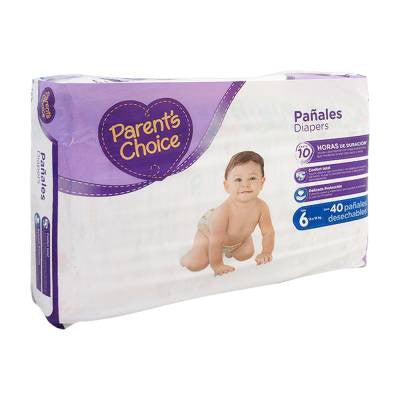 Parents Choice Diapers, Size 6 (40 ct)