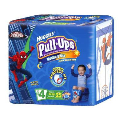 Huggies Pull-Ups Training Pants, Size 4, Boy (25 ct)