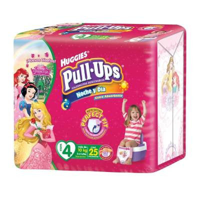 Huggies Pull-Ups Pants, Size 4, Girl (25 ct)