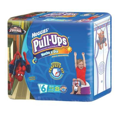 Huggies Pull-Ups Training Pants, Size 6, Boy (25 ct)