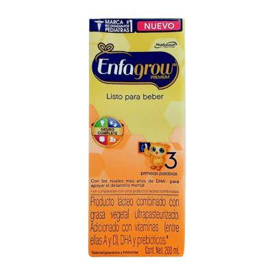 Enfagrow Premium dairy product, stage 3, ready-to-feed, 200 ml