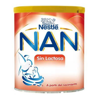Nan lactose free infant formula, 0 to 12 months, 400g
