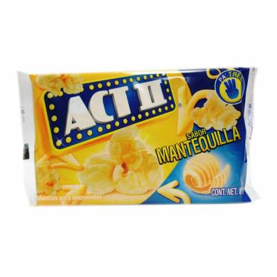 Act II Butter Microwave Popcorn