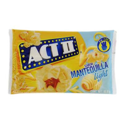 Act II Light Butter Microwave Popcorn