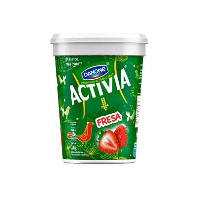 Activia Strawberry Yoghurt
