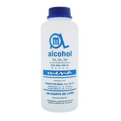 Alcohol Mena First Aid Antiseptic (8.4 oz)