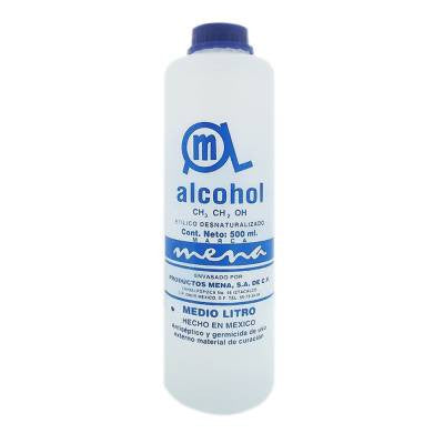 Alcohol Mena First Aid Antiseptic (17 oz)