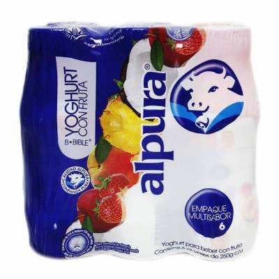 Alpura Mixed Fruits Drinkable Yoghurt (6 Pack)