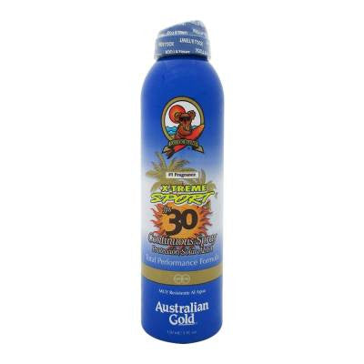 Australian Gold Exotic Blend Xtreme Sport Sunscreen SPF 30 Spray