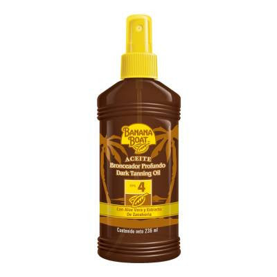 Banana Boat Dark Tanning Oil SPF4 (8 oz)