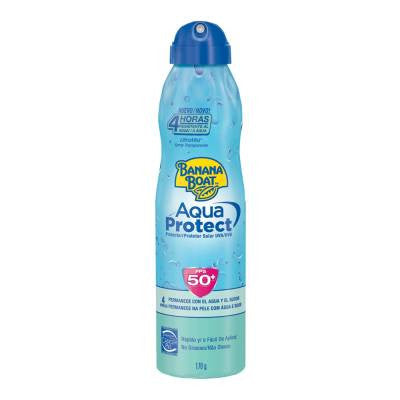 Banana Boat Aqua Protect Sunscreen SPF 50 Spray (6 oz)
