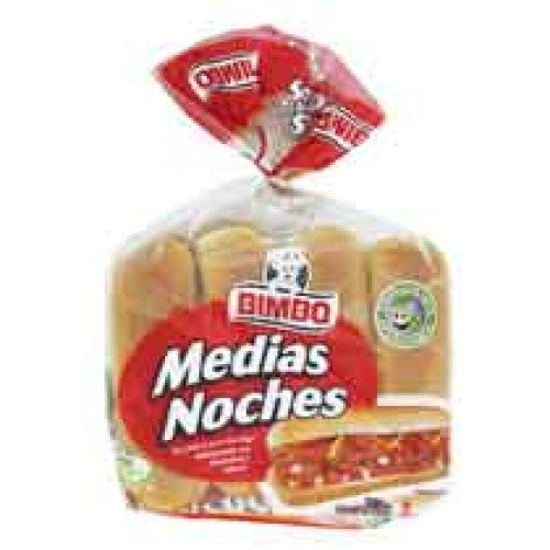 Bimbo Hot Dog Buns (8 pack)
