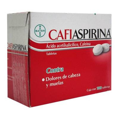 CafiAspirina Pain Reliever Tablets (100-pc)