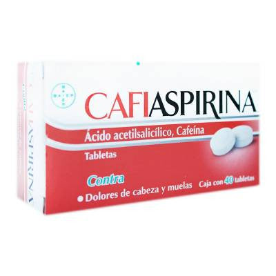 CafiAspirina Pain Reliever Tablets (40-pc)