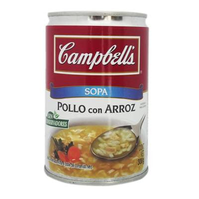 Campbells Condensed Chicken with Rice Soup