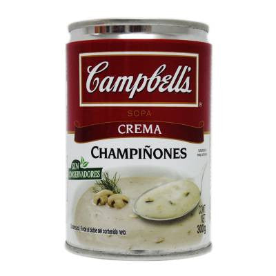 Campbells Soup Cream Of Mushroom
