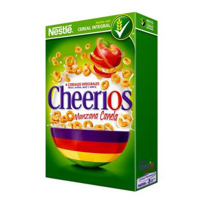 Cheerios Cereal Apple Cinnamon
