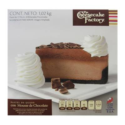 Cheesecake Factory Chocolate Mousse Cheesecake (8 slices)