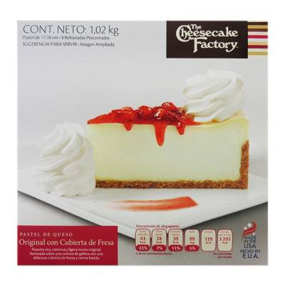 Cheesecake Factory Cheesecake (8 slices)